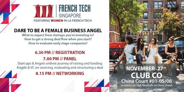 Dare to be a Female Business Angel   – by Women of La French Tech