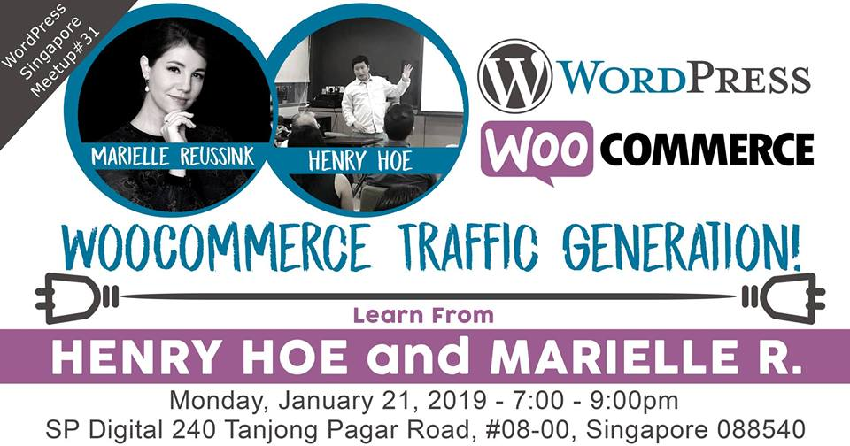 Marielle Speaker at WorPress Meet up in January 2019