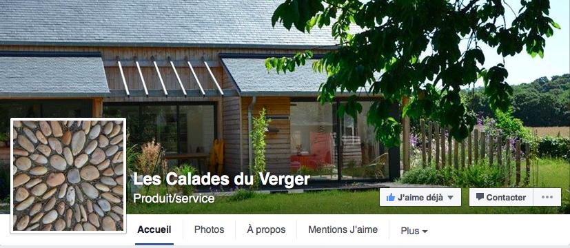 facebook les calades du verger_chambres et table d'hôtes_bretagne