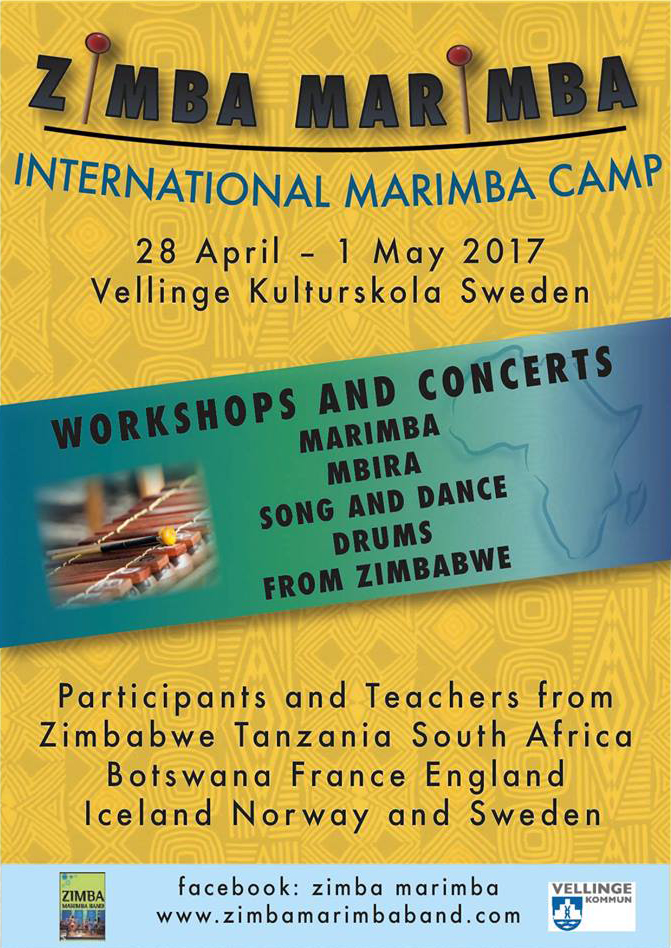 Zimba Marimba International Marimba Camp