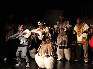 Cultural southern African performances during Black History Month