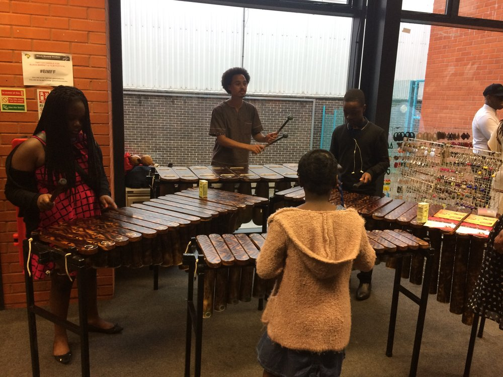 African Marimba Music Workshop with Otto Gumaelius