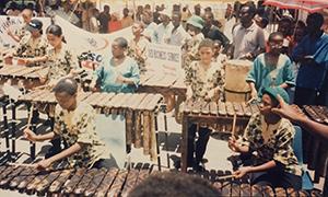 Thornhill Marimba Band, Botswana, 1998