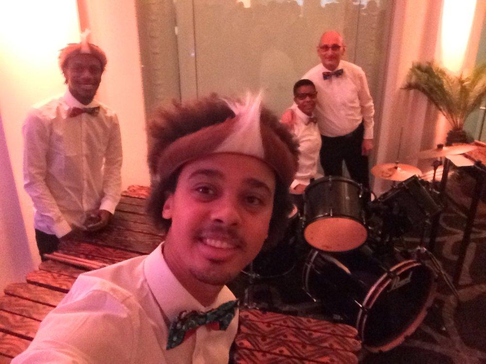 Grassroot Soccer World AIDS Day Gala - Duduetsa African Marimba Band.JPG