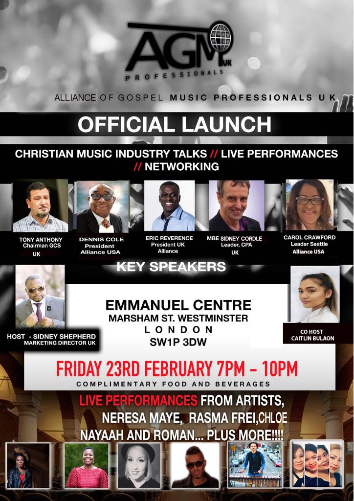 AGM Professionals UK Launch
