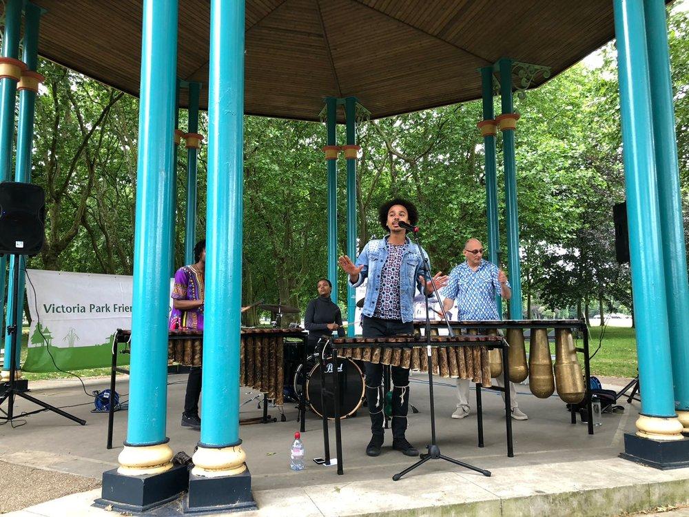 Summer Bandstand Victoria Park