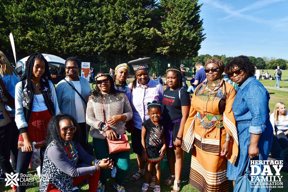 Otto & The Mutapa Calling at South Africa Heritage Day Picnic in Wimbledon Park London