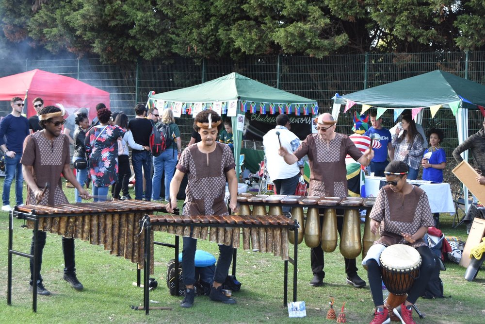 Otto & The Mutapa Calling At South Africa Heritage Day Picnic in London
