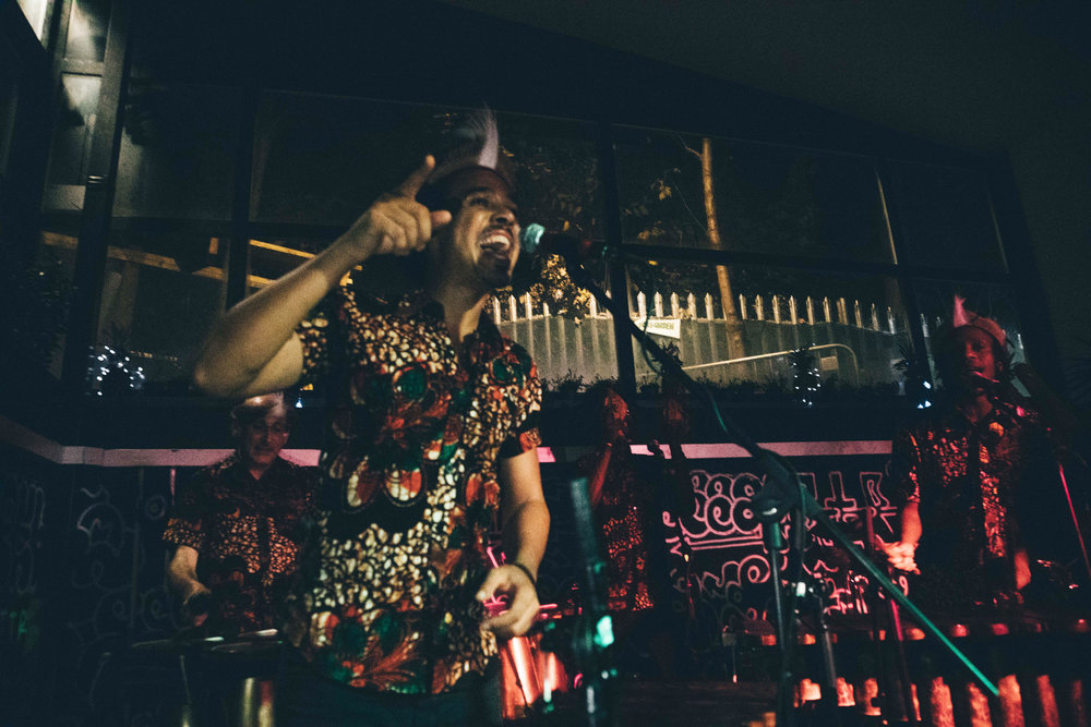 Otto And The Mutapa Calling African Marimba Band Album Launch at Grow Hackney in London
