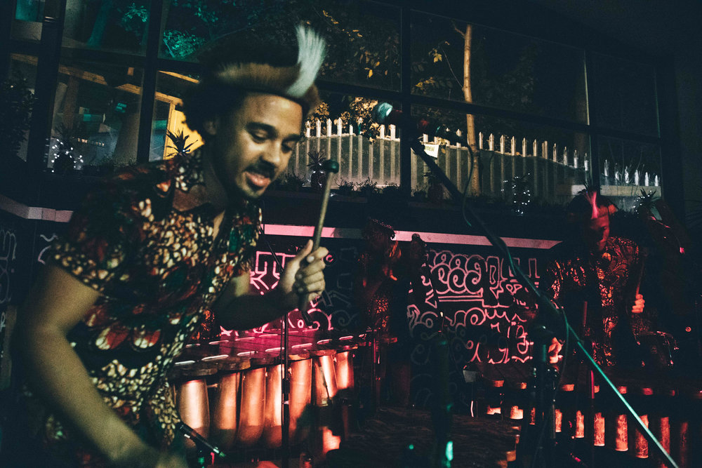 Otto And The Mutapa Calling African Marimba Band Album Launch at Grow Hackney in London 1.jpg
