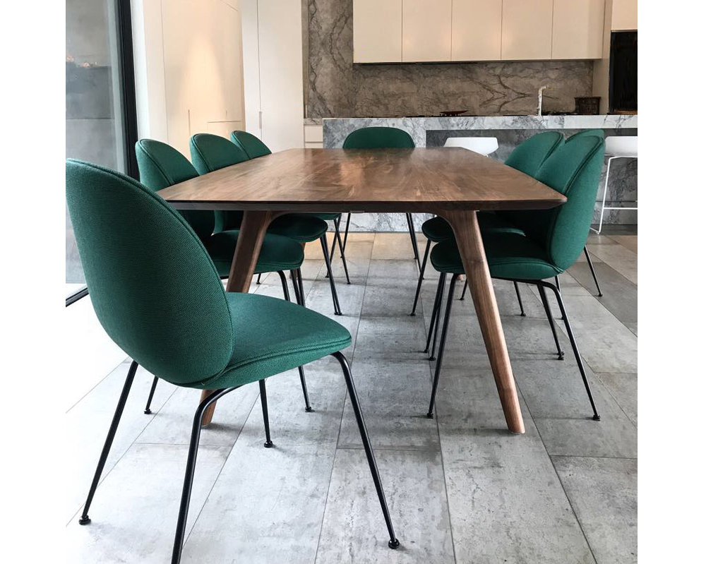 Alex Earl birchland custom American black walnut dining table gubi chairs.jpg