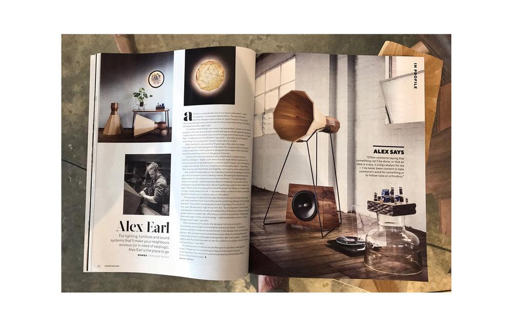 Exceptional Alex Earl Grand Designs Magazine