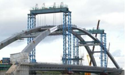 Usk River Bridge, Newport - Temporary Works Management