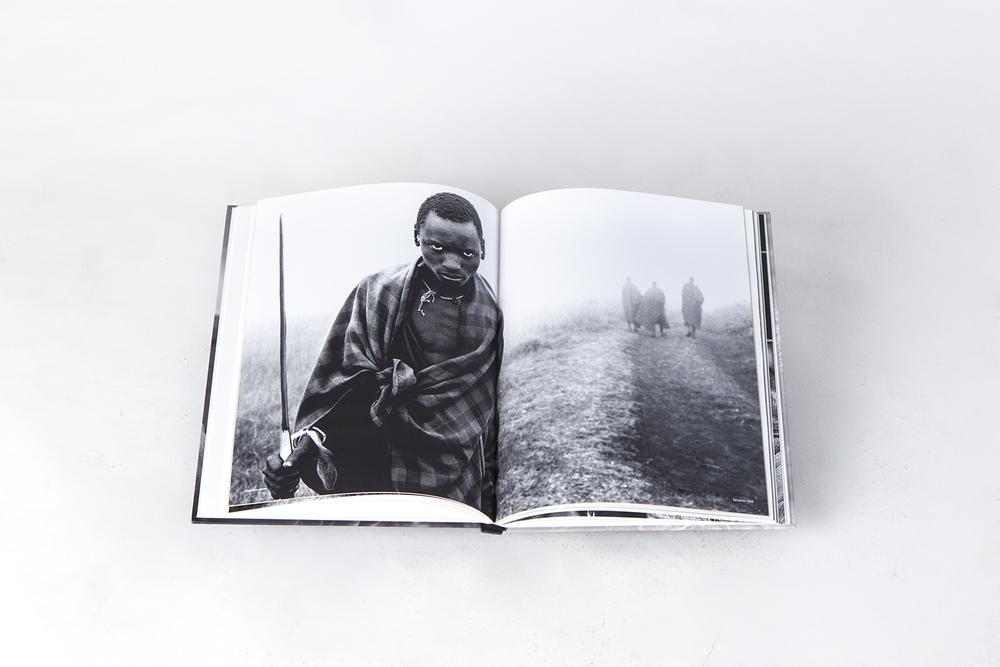 Pastor Masai en el libro Rostros