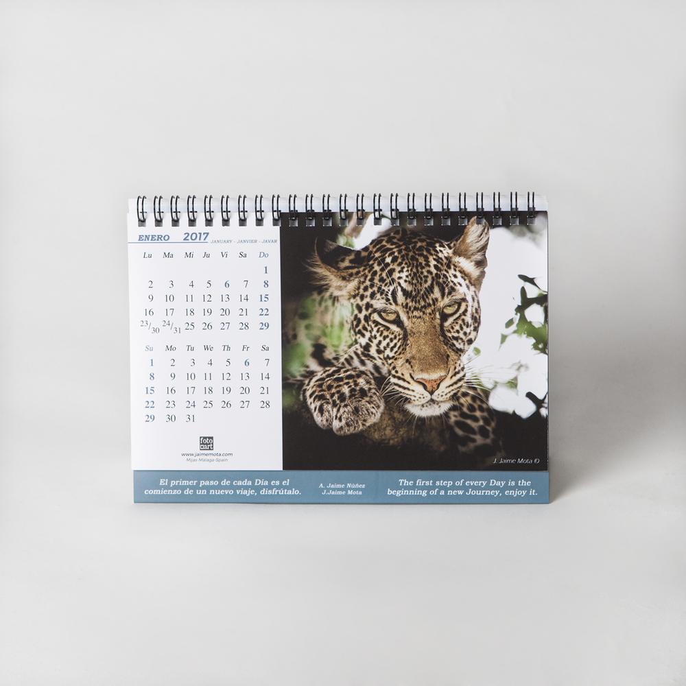 Imagen calendario Fotoart 2017
