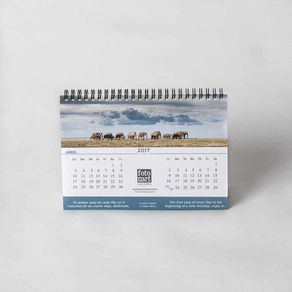 Fotografía calendario Fotoart 2017