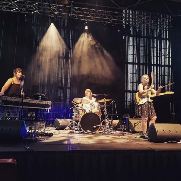 Pheno Band at the Brisbane Powerhouse, Sun Nov 26. Photo courtesy of Mitchell T. Smith