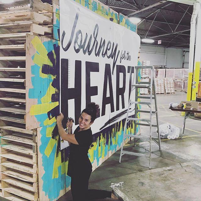 #journeyfortheheart2017 #volunteersrock