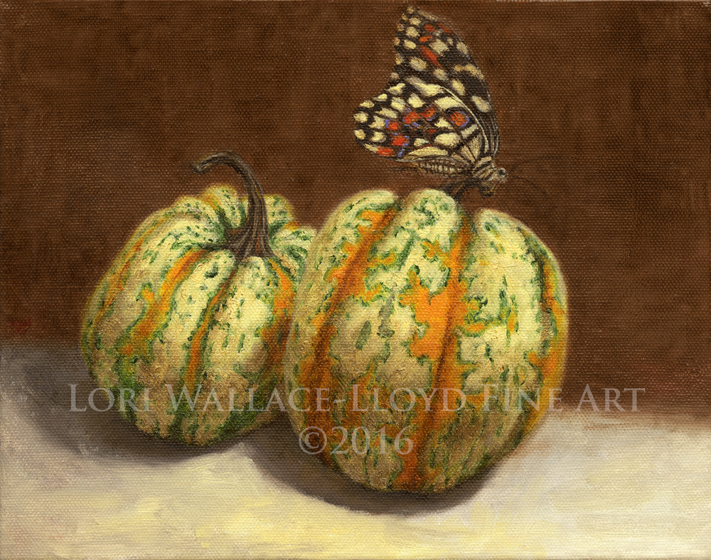 Gourds and Lime Butterfly