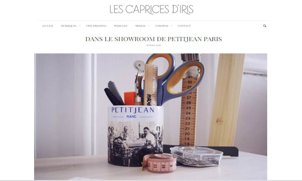 Les Caprices d'Iris, March 18, 2016