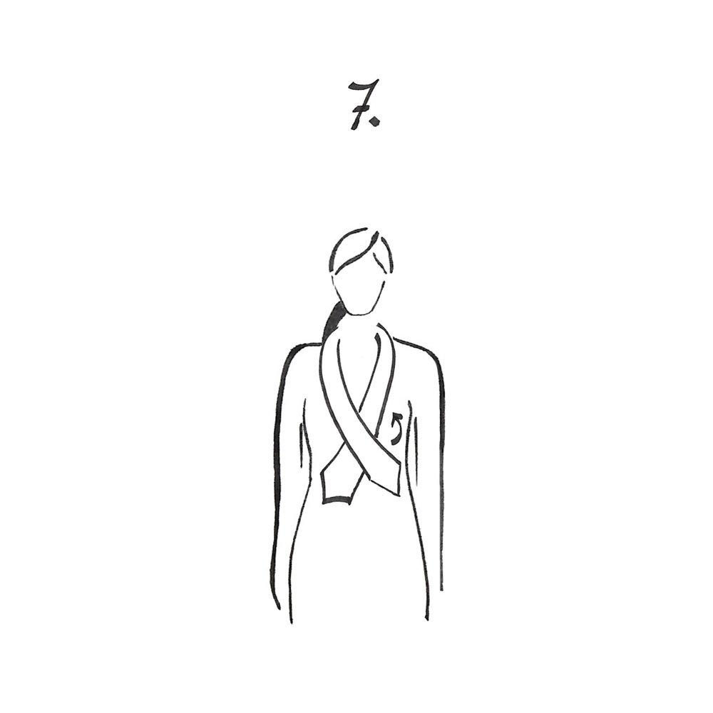 Faire un premier noeud simple.