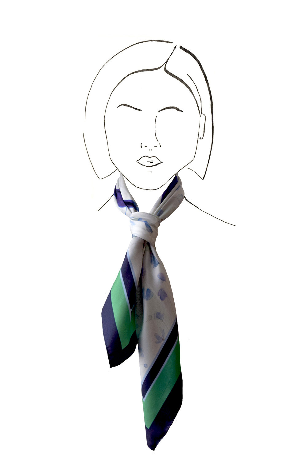 A bold and assertive tie knot.