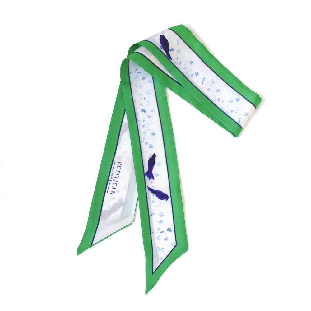 Lavalline Mésanges scarf