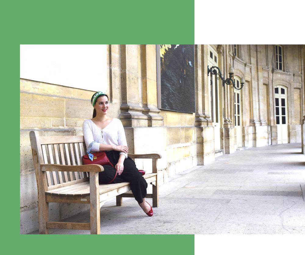 petitjean paris portraits de parisiennes charlotte accessoire de soie
