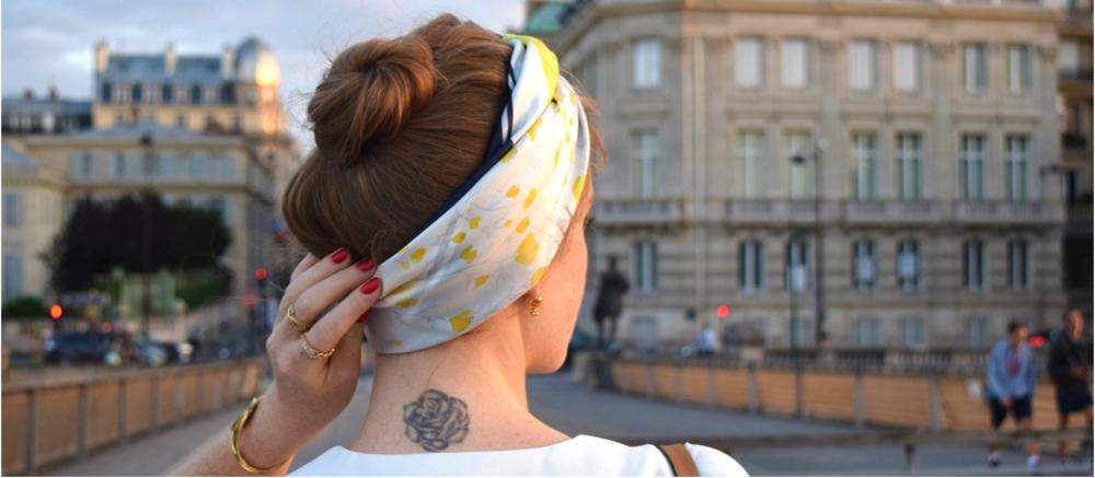 petitjean paris portraits de parisian accessories carre scarf victoire