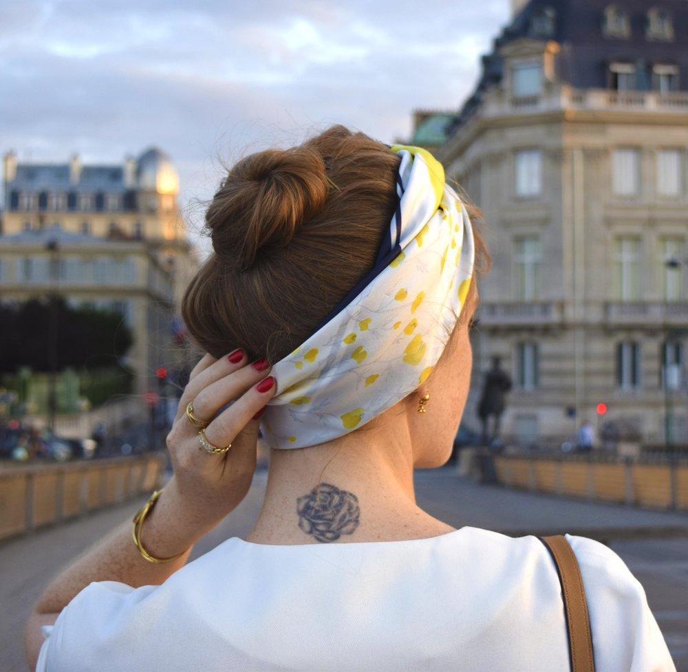 Portrait of Parisian Victoire Petitjean Paris