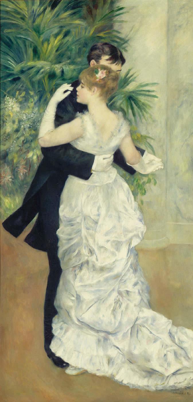 Danse à la ville, 1883