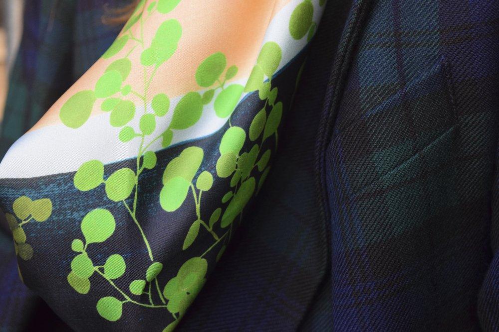 petitjean paris portraits de parisiennes accessoires soie lavallines carrés foulards tiphaine