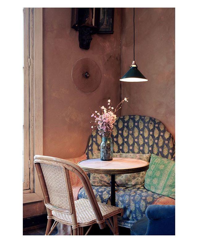 PORTRAIT ▪ Another shot of this lovely timeless café. To welcome this new season, I have prepared a bucolic new portrait of Parisian girls for you guys. Let's head to Saint-Germain-des-Prés and this lovely timeless café with Julie :). The full portrait is now available on our website ! . . . . . . #petitjeanparis #designedinparis #petitjeanstories #flowerandpoetry #urbanflowers #artdevivre #sérénité #thefrenchway #designer #portrait #parisiangirl #vintage #parisiancafe #parisianstyle #parisienne #parisian #flowersmakemehappy #flowersandme  #botanicalprints #botanicalart #decor #homedecor #interiorstyling  #interiors #homestyling #freshandfrench #parisianstyle  #parisianchic #flowerlove #saintgermaindespres