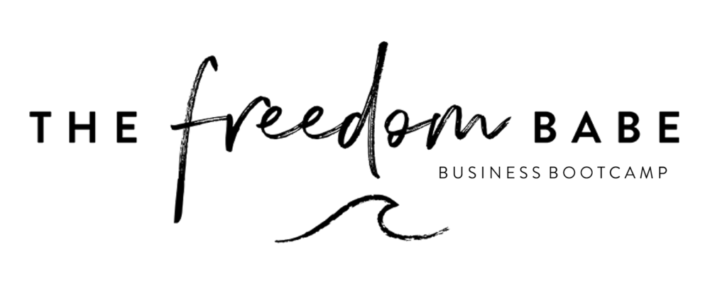 the freedom babe business bootcamp