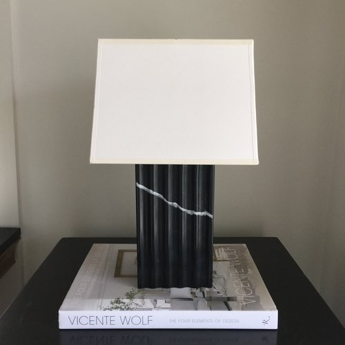 Black Marble Table Lamp Ty Larkins Interiors