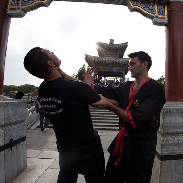 Targetry in Wing Tsun... One of the key reasons that Wing Tsun does not depend on size or strength is the ability to target the weak point of the opponent in the fastest manner. The principles here are 'never move without a purpose' and 'never strike without a target'. Each target must be able to incapacitate the attacker immediately.  After all, use of force is always the last resort in Wing Tsun - so whatever you do must work, as your life literally depend on it...