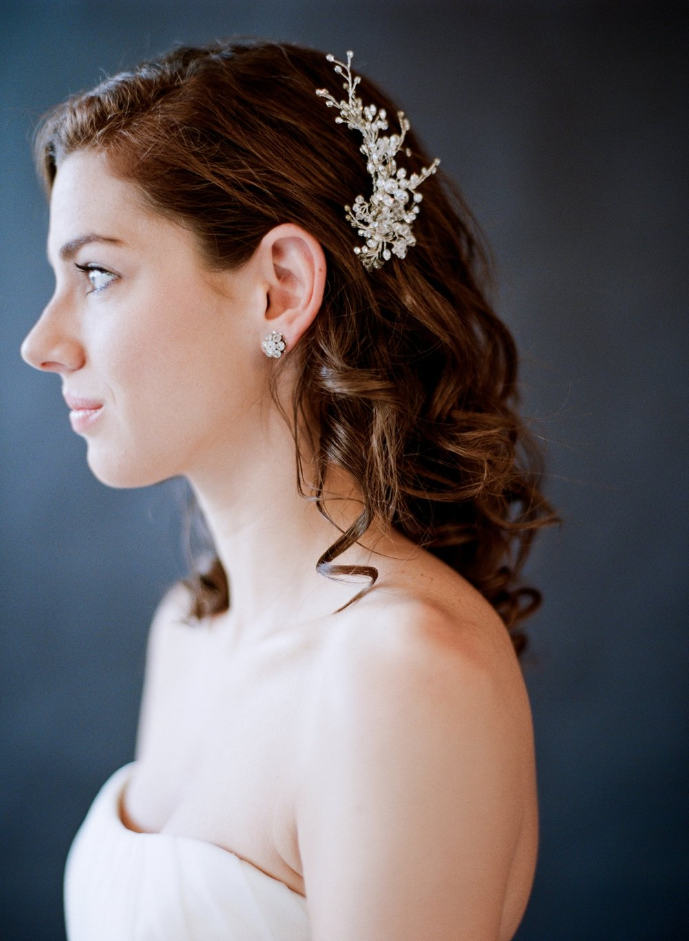 Bridal Hair Piece | West Palm Beach Wedding Photographer | Shannon Griffin 4.jpg