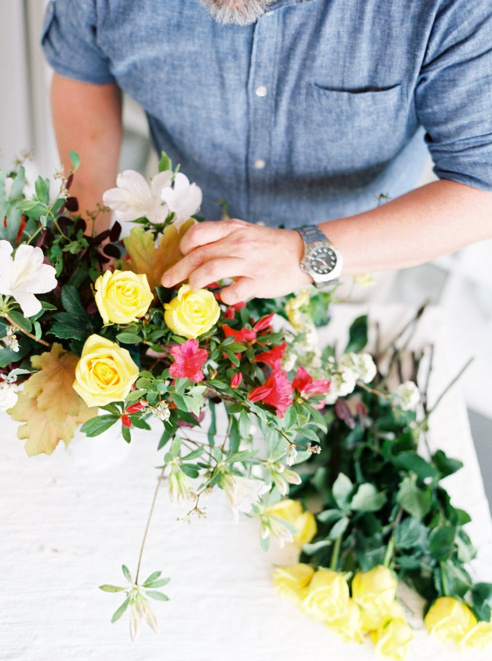 How To Make a Garden Fabulous Centerpiece Rosemary Beach Florist  Myrtie Blue  Shannon Griffin_0024.jpg