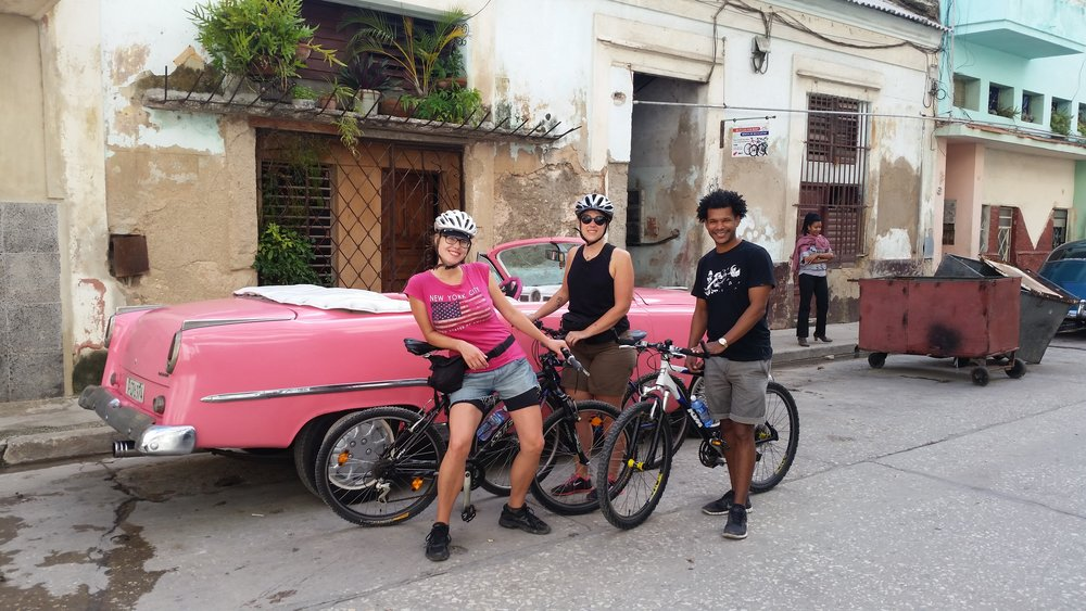 Mini bike tour through Old Havana