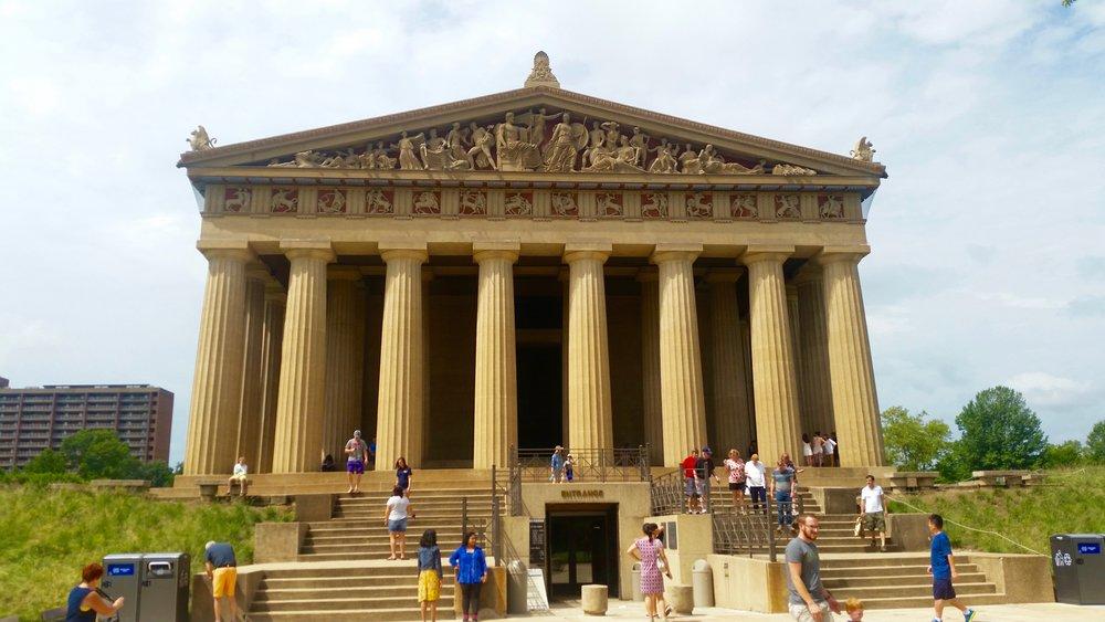 The Parthenon in Nashville, Tennesee