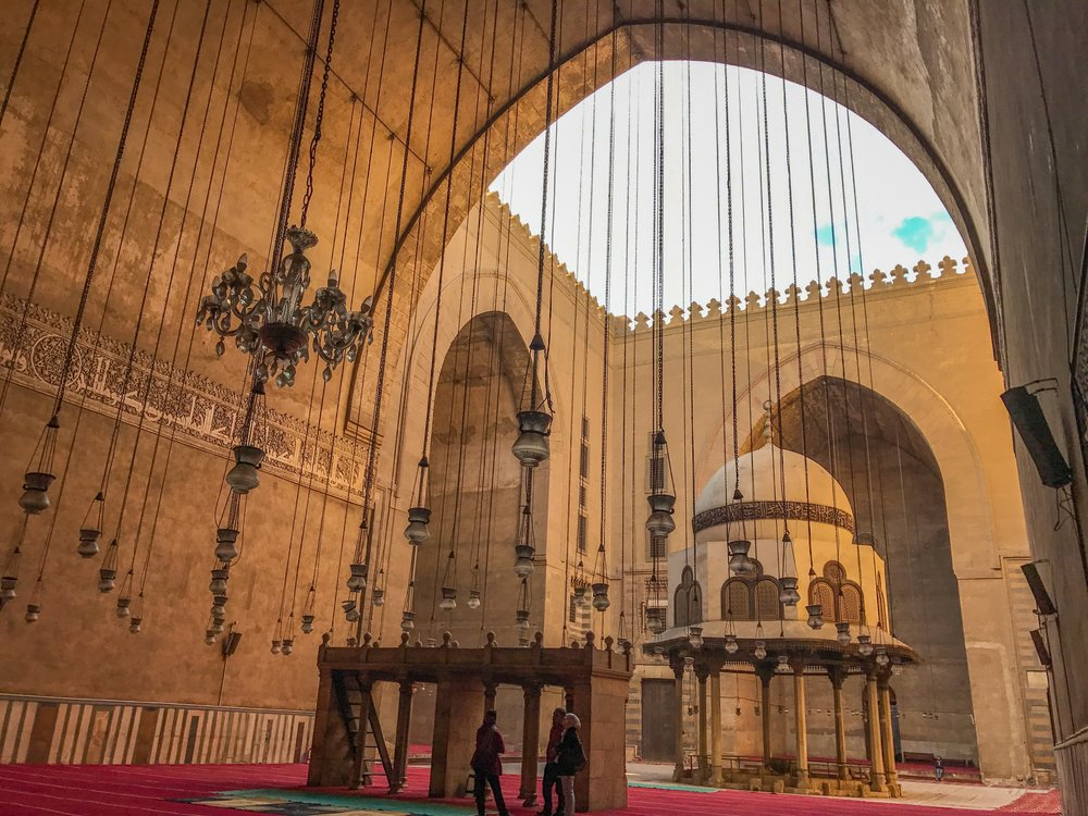 One of many gorgeous mosques in Cairo