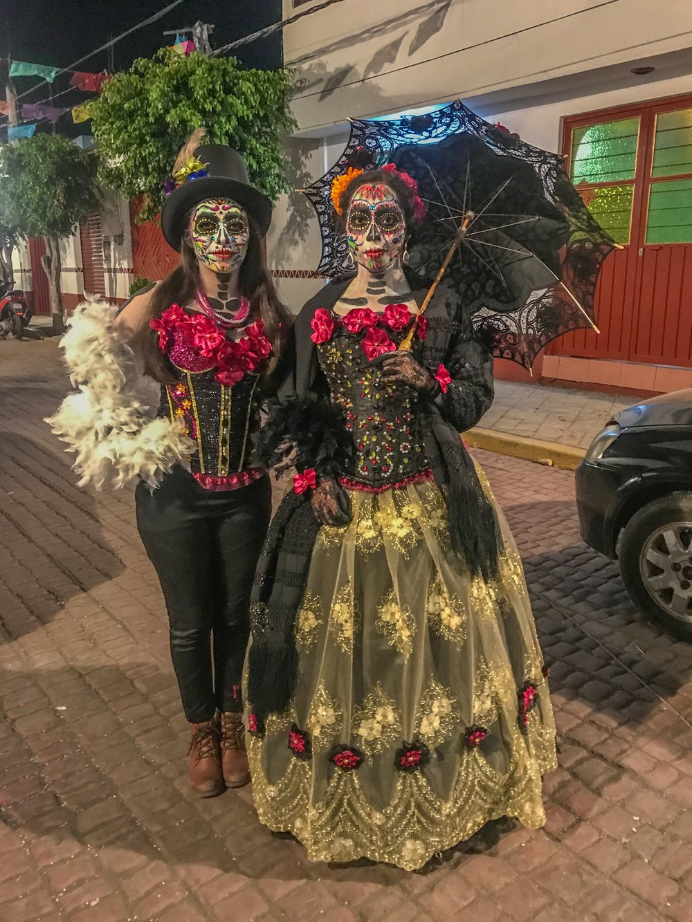 "A traditional Day of the Dead ""Catrina"" in Mixquic"