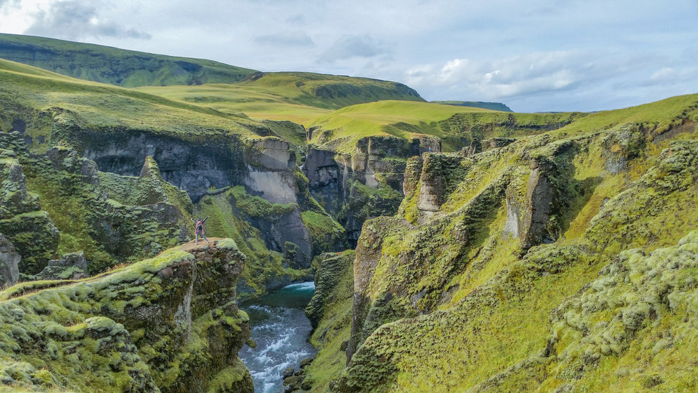 Believe it or not, this is average scenery in Iceland!
