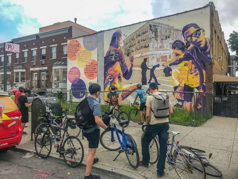 Bushwick graffiti bike tour