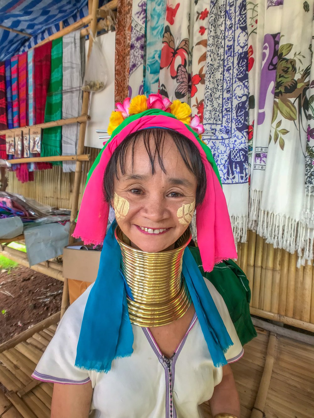 Many Karen women appear to love meeting tourists in the Long Neck Village