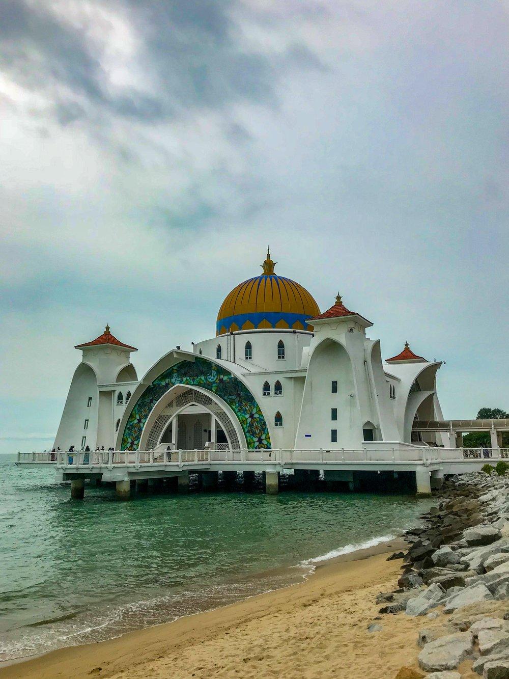 Melaka's floating mosque