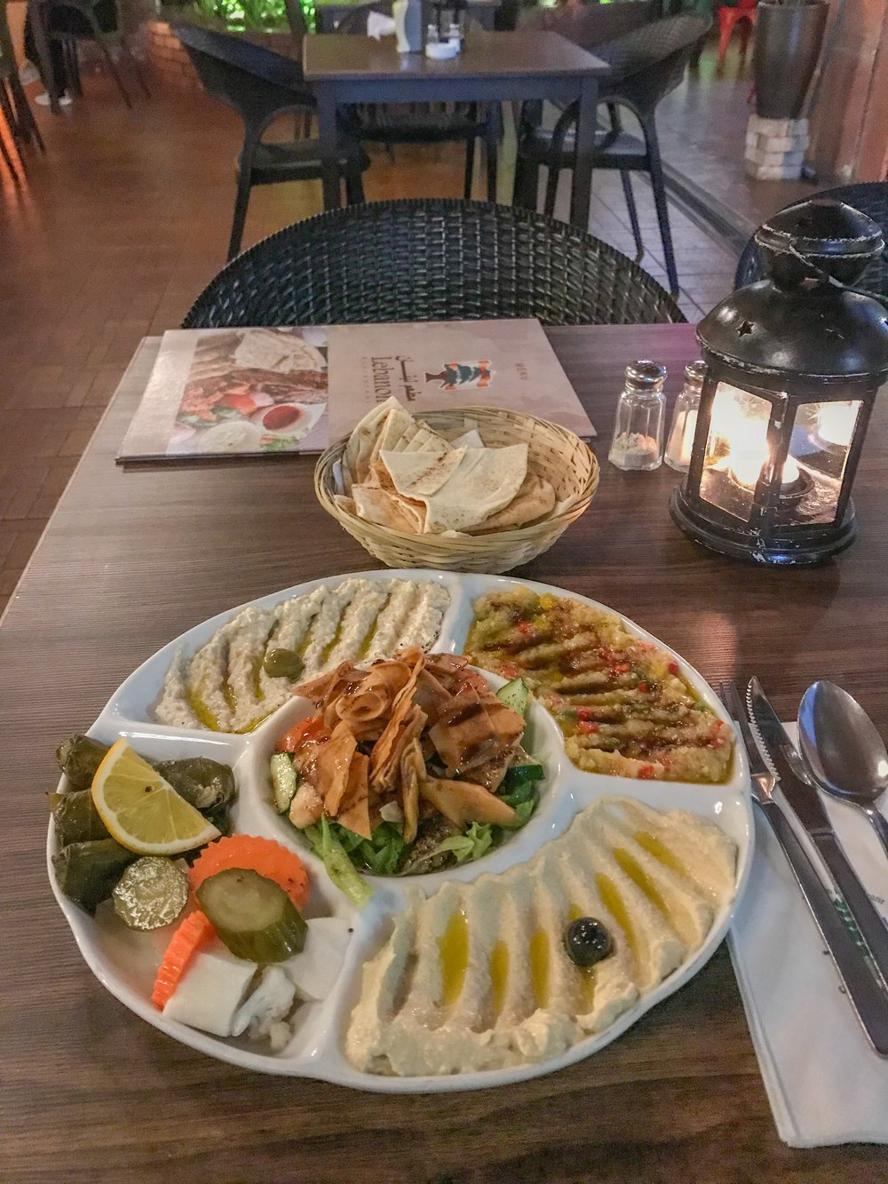 Arabic food is especially popular in Batu Ferringhi
