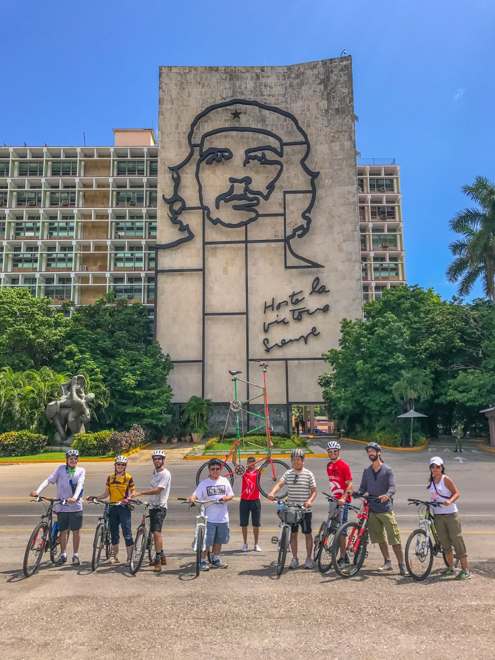 One of my group tours to Havana