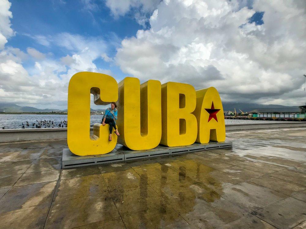 Me in Santiago, Cuba, 2018