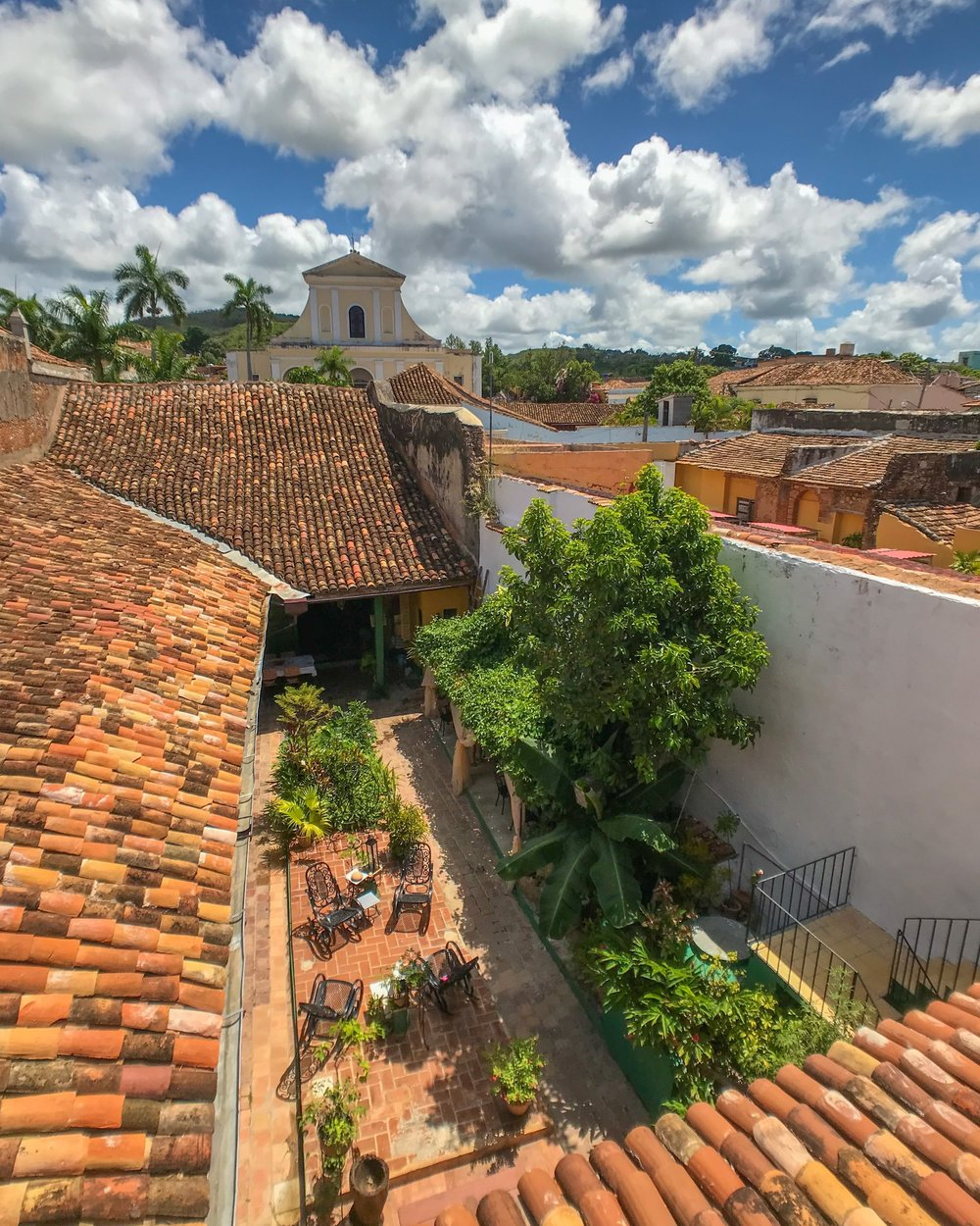 The view from a casa I work with in Trinidad, Cuba